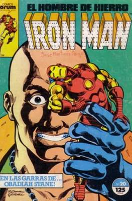 Iron Man Vol. 1 / Marvel Two-in-One: Iron Man & Capitán Marvel (1985-1991) (Grapa, 36-64 pp) #20