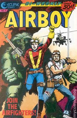Airboy (1986-1989) #4