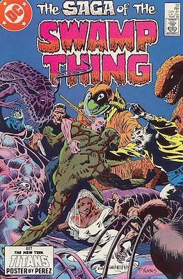 Swamp Thing (1982-1996) #22