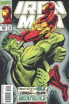 Iron Man Vol. 1 (1968-1996) (Comic book) #305