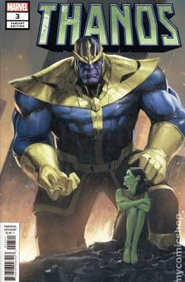 Thanos (2019 Variant Cover) (Comic Book) #3