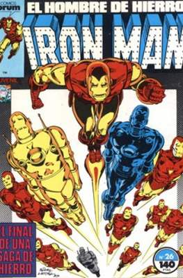 Iron Man Vol. 1 / Marvel Two-in-One: Iron Man & Capitán Marvel (1985-1991) (Grapa, 36-64 pp) #26
