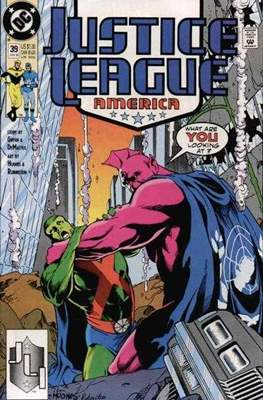 Justice League / Justice League International / Justice League America (1987-1996) (Comic-Book) #39