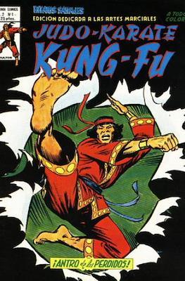 Relatos salvajes. Artes marciales Judo - Kárate - Kung Fu (1981-1982) (Rústica 52-60 pp) #1