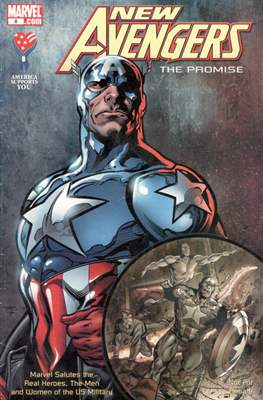 America Supports You: Marvel Salutes the Real Heroes, the Men and Women of the U.S. Military (Comic Book) #8