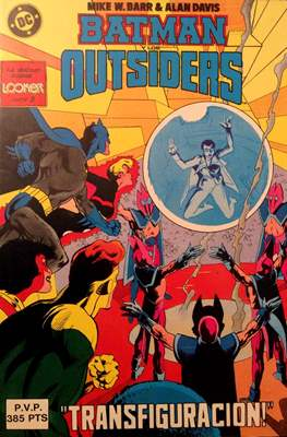 Batman y los Outsiders (1986) (Retapado Rústica) #5.1