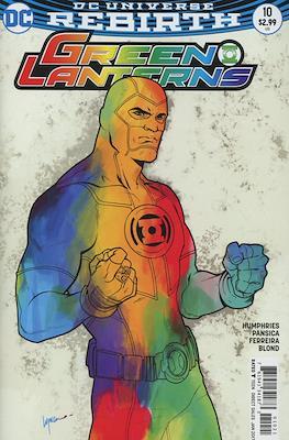 Green Lanterns (Vol. 1 2016-... Variant Covers) #10