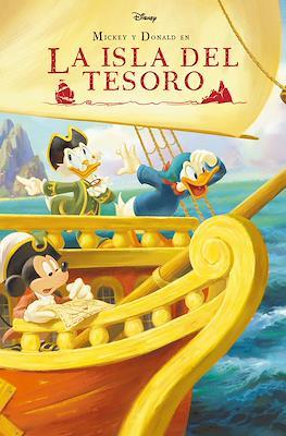 Mickey y Donald en La Isla del Tesoro (Cartoné 32 pp)