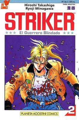 Striker, el guerrero blindado #2
