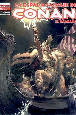 La Espada Salvaje de Conan el Bárbaro. Edición coleccionistas (Rústica. 64 páginas. B/N. (2005-2008).) #21