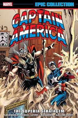 Captain America Epic Collection (Softcover) #17