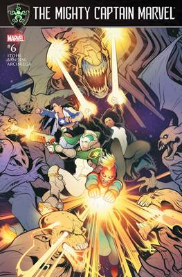 The Mighty Captain Marvel (2017-) (Comic-book) #6