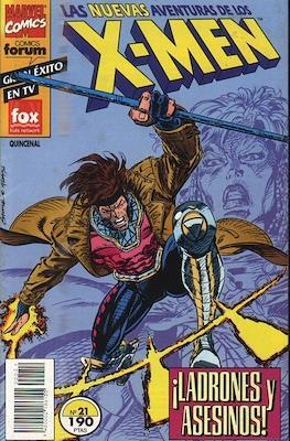 Las nuevas aventuras de los X-Men (Grapa 24 pp) #21