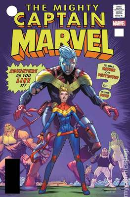 The Mighty Captain Marvel (2017-) Variant Covers #125