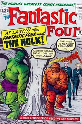 Fantastic Four Vol. 1 (1961-1996) (saddle-stitched) #12