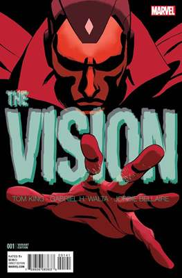 The Vision Vol. 3 (Variant Cover) (Comic Book) #1.2