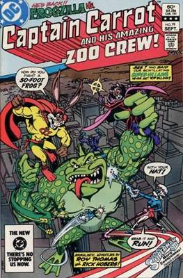 Captain Carrot and his amazing Zoo Crew (Comic Book) #19