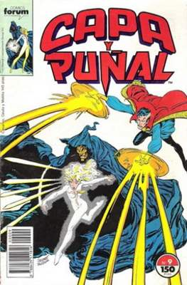 Capa y Puñal Vol. 1 / Marvel Two in One: Capa y Puñal & La Cosa (1989-1991) (Grapa 24-64 pp) #9