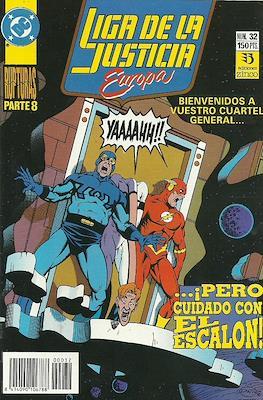 Liga de la Justicia Europa (1989-1992) (Grapa) #32