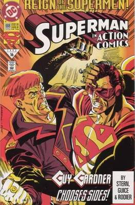 Action Comics Vol. 1 (1938-2011; 2016-) (Comic Book) #688