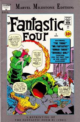 Fantastic Four. Marvel Milestone Edition (Comic Book) #1