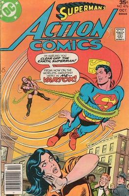 Action Comics Vol. 1 (1938-2011; 2016-) (Comic Book) #476
