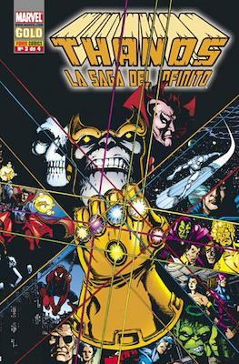 Thanos: La saga del infinito. Marvel Gold (Rústica 96-128 pp) #3