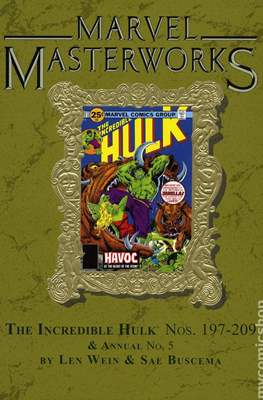 Marvel Masterworks (Hardcover) #263