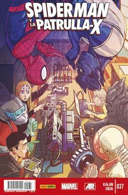 Lobezno y la Patrulla-X / Spiderman y La Patrulla-X (2012-2015) (Grapa.) #37