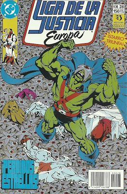 Liga de la Justicia Europa (1989-1992) (Grapa) #28