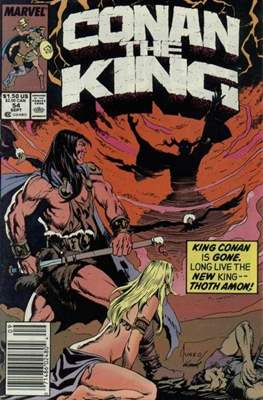 King Conan/Conan the King (1980-1989) (Grapa, 48 págs.) #54