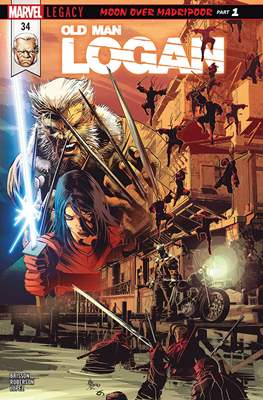Old Man Logan Vol. 2 (Comic-book) #34