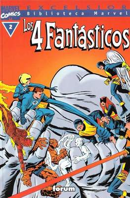 Biblioteca Marvel: Los 4 Fantásticos (1999-2001) (Rústica 160 pp) #2