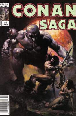 Conan Saga (Comic-book) #23