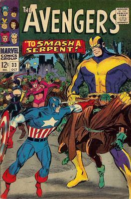 The Avengers Vol. 1 (1963-1996) (Grapa) #33