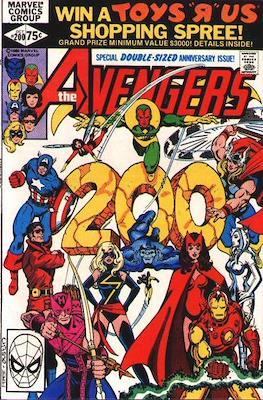 The Avengers Vol. 1 (1963-1996) (Grapa) #200