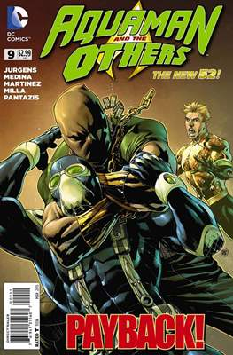 Aquaman and The Others (2014-2015) #9