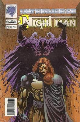 The Night Man. Ultraverse (Grapa 24 pp) #3