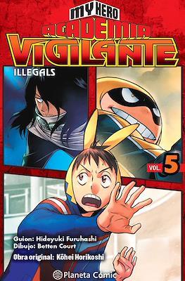 My Hero Academia: Vigilante Illegals (Rústica con sobrecubierta) #5