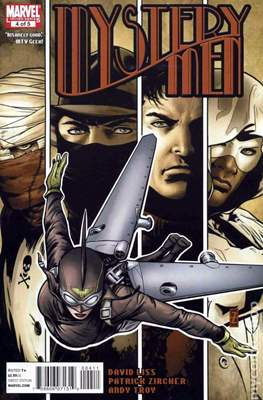 Mystery Men (2011) (Comic books 32 pags) #4