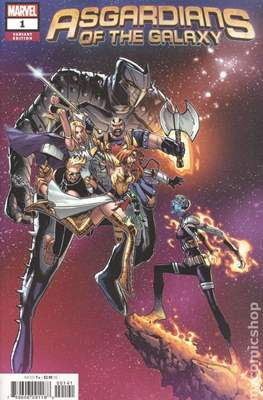 Asgardians of the Galaxy (Variant Cover) #1.1