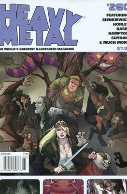 Heavy Metal (Variant Cover)