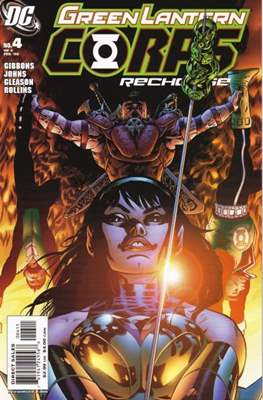 Green Lantern Corps: Recharge (2005-2006) #4