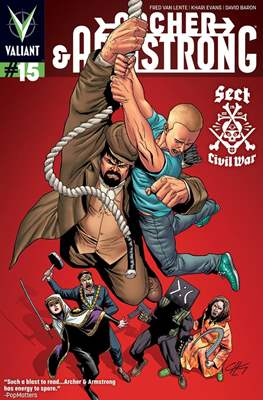 Archer & Armstrong (Comic Book) #15