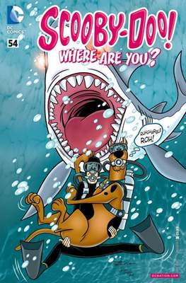 Scooby-Doo! Where Are You? (Comic Book) #54