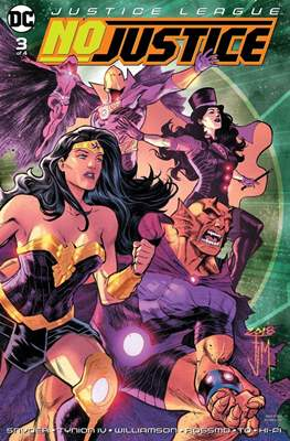 Justice League: No Justice (2018) Grapa #3