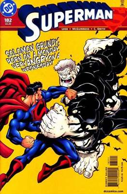 Superman Vol. 2 (1987-2006) (Comic Book) #182