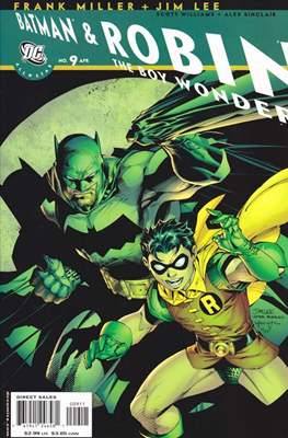 All Star Batman & Robin, The Boy Wonder (Comic Book) #9