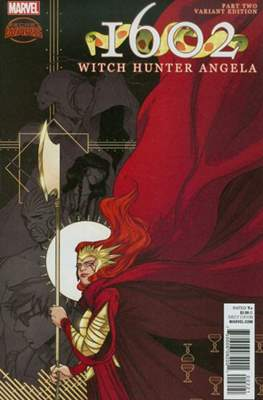 1602: Witch Hunter Angela (Variant Cover) #2