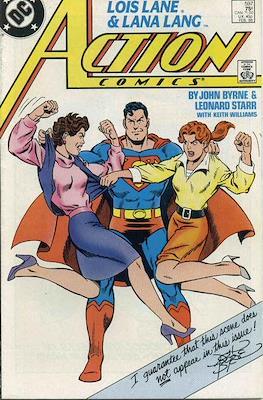 Action Comics Vol. 1 (1938-2011; 2016-) (Comic Book) #597